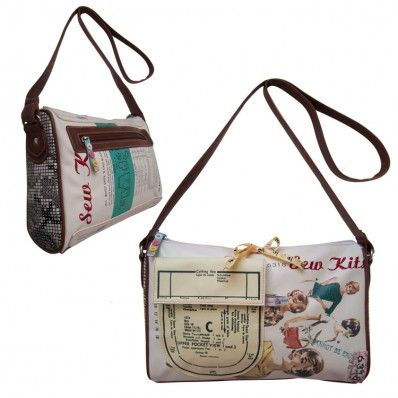 Disaster Designs Needle and Thread Handbag - An ode' to Ma'am
