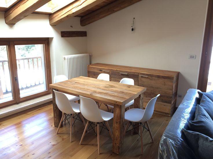 Table en vieux bois/ Stół ze starego drewna