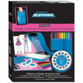 Project Runway Fashion Design Projector Kit $36.97 http://www.educationaltoysplanet.com/best-gifts-for-8-year-old-girls.html