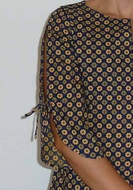 Tunique par globullle , les petits motifs sont les plus mignons