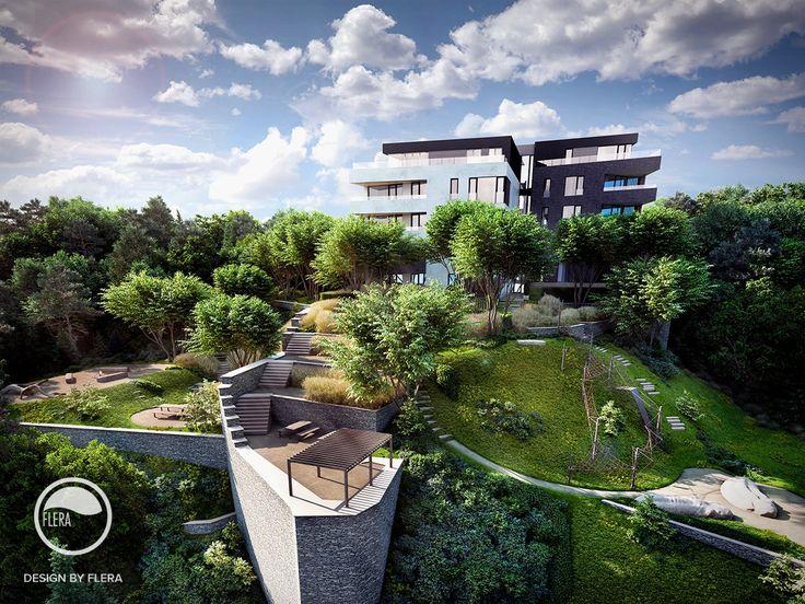 #landscape #architecture #garden #public #space #playground #path #resting #place