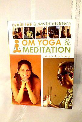 OM Yoga and Meditation Workshop (DVD, 2006) 2-Disc Set, CD/ Booklet Included