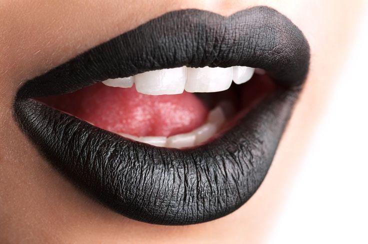GCC BLACK MATTE LIPSTICK Similar To LIME CRIME Black Matte Lipstick #GlamorousChicksCosmetics