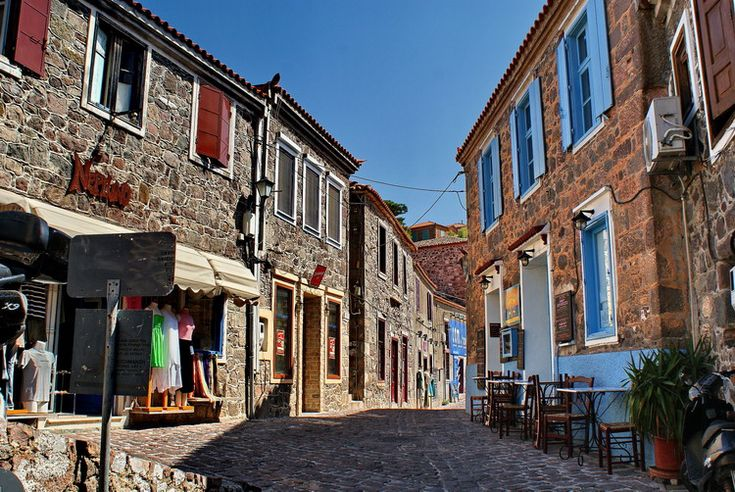 Mithymna - now known as Molyvos, Lesvos. Why not join us in October to see all the sites. See our website for all the details.