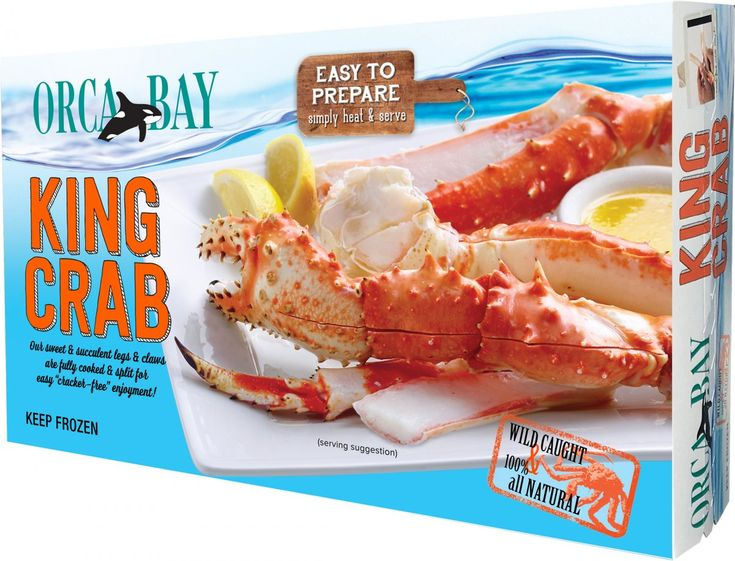 Easy to prepare, straight to your door. 2 pounds of King Crab Legs!