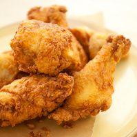 Buttermilk fried chicken.
