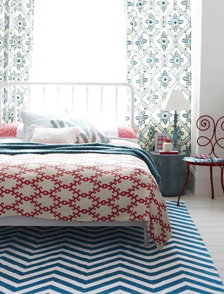 Boho Bedroom Goodhomes Magazine June  Styling Emma Clayton Photography Jo Henderson