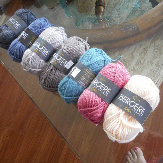 yarn bergere de france yarn baltic yarn by clairestjames13 on Etsy