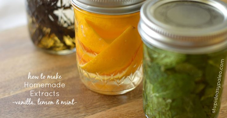 how to make fruit extracts