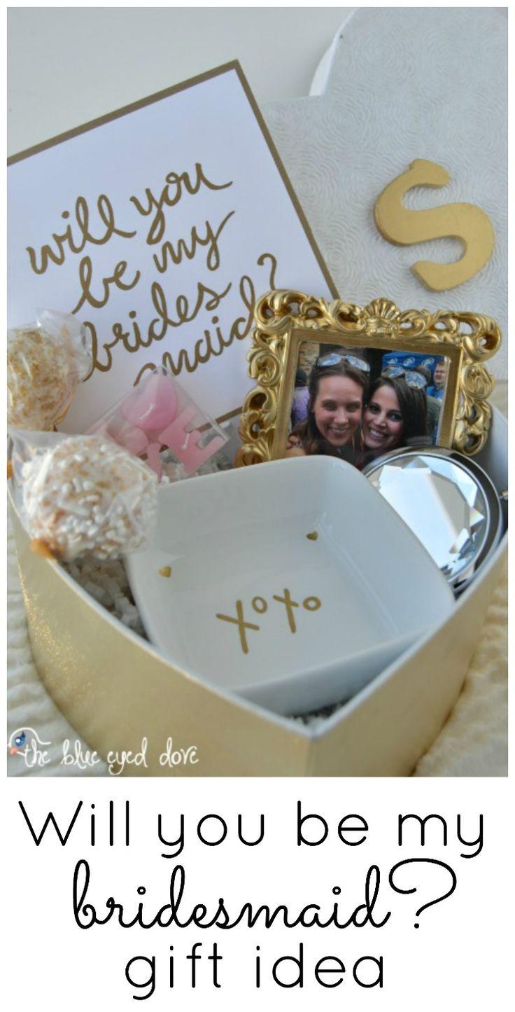 Unique bridesmaid gift ideas cheap - Will You Be My Bridesmaid Gift Idea