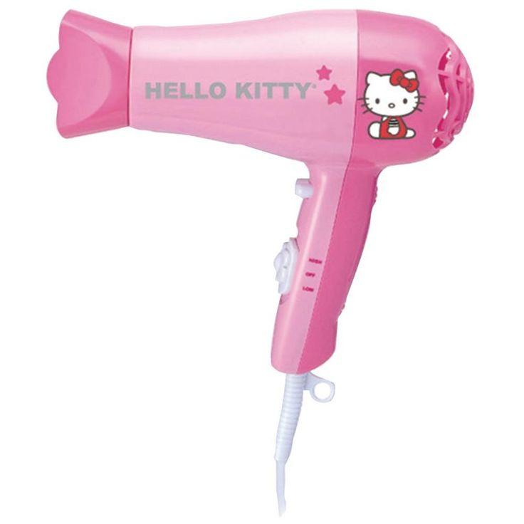 HELLO KITTY KT3052A 1,875-Watt Hair Dryer