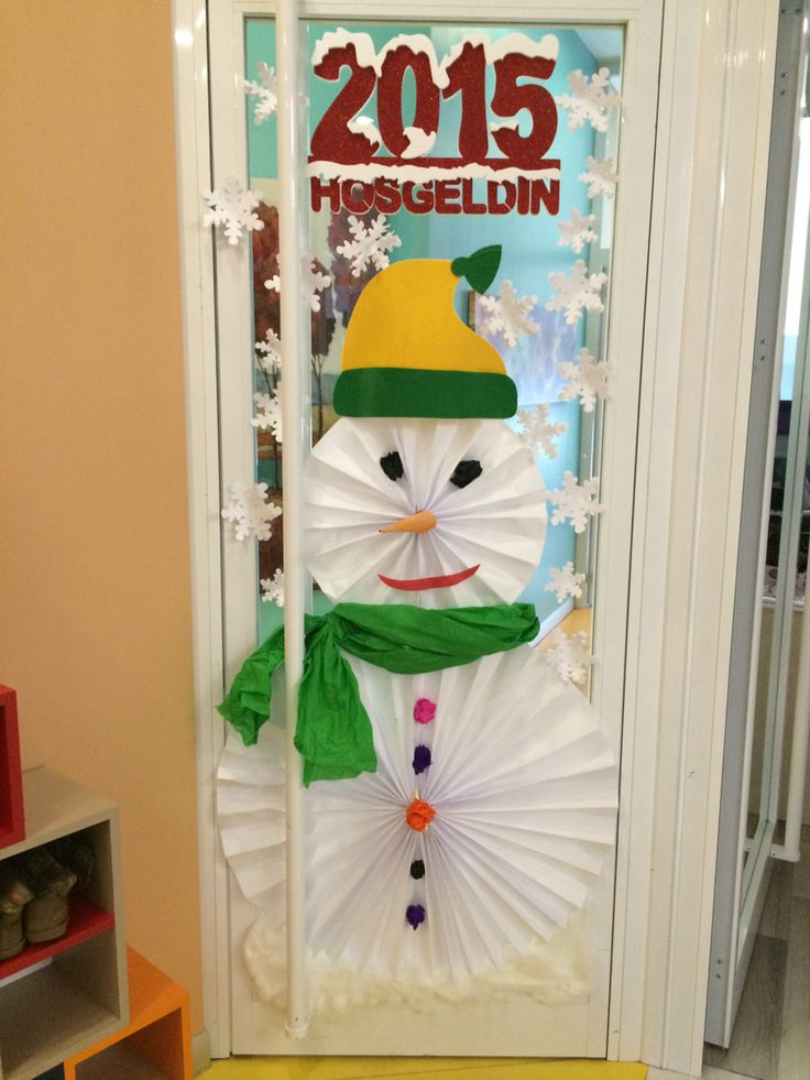 Kapı için kardan adam