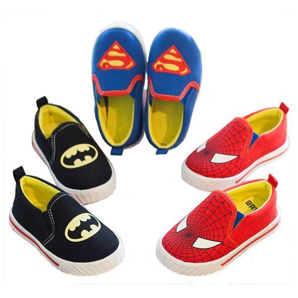 Купить Супермен мальчики девочки обувь компактный дети в обувь бег обувь персонализированные дети обувь паук бэтмени другие товары категории Спортивная обувьв магазине Smalltao Kids ParadiseнаAliExpress. чистка бакелс и ботинки ботинки номер