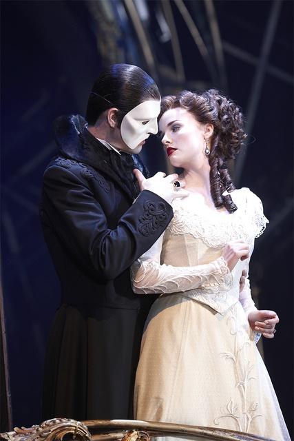 Love Never Dies Phantom of the opera ball dress Paris France fashion 1700s 1800s