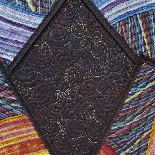 Machine Quilting--Variegated Thread: Quilts Patterns, Machine Quilts Varieg, Quiltingvarieg Thread, Longarm Quilts, Design Galleries, Colors Thread, Quilts Design, Machine Quiltingvarieg, Machine Embroidery