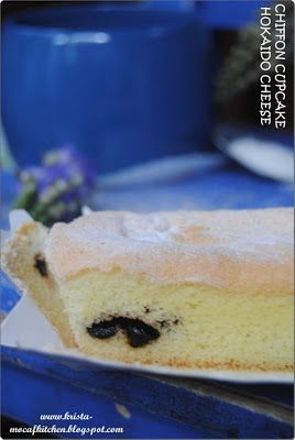 KRISTA MOCAF KITCHEN: Mocaf Hokaido Cheese Chiffon Cupcakes - Gluten Fre...