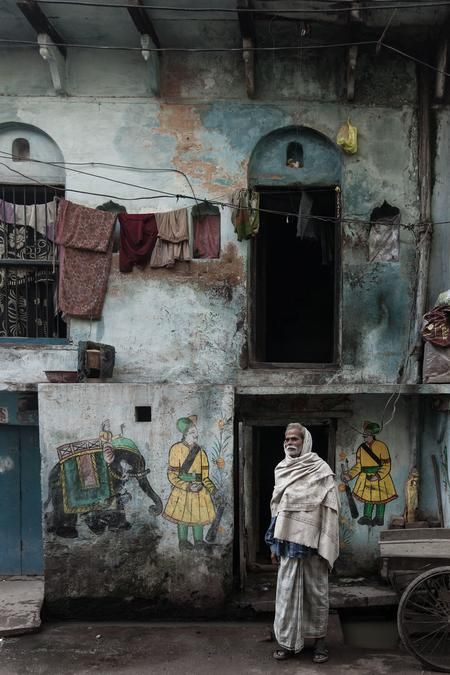 Home sweet home at Varanasi Photo by Serge Bouvet — National Geographic Your Shot