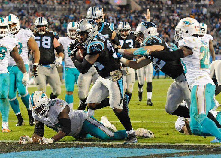 Panthers Mobile: Dolphins Panthers Football Cameron Artis-Payne | http://yi.nzc.am/ezTpX6