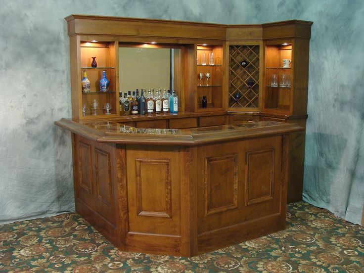 This Bar Can Fit Nicely In The Corner Of Any Room.If You Want To Part 13