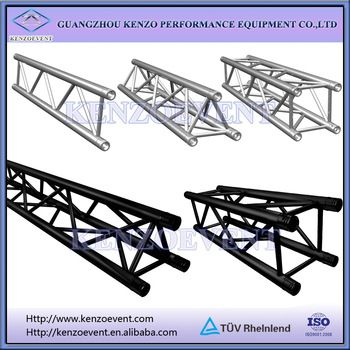 on sale aluminum lighting truss led tv stand design