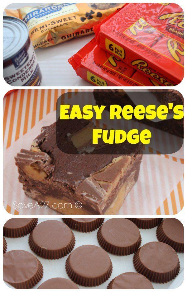 Easy Reese's fudge recipe