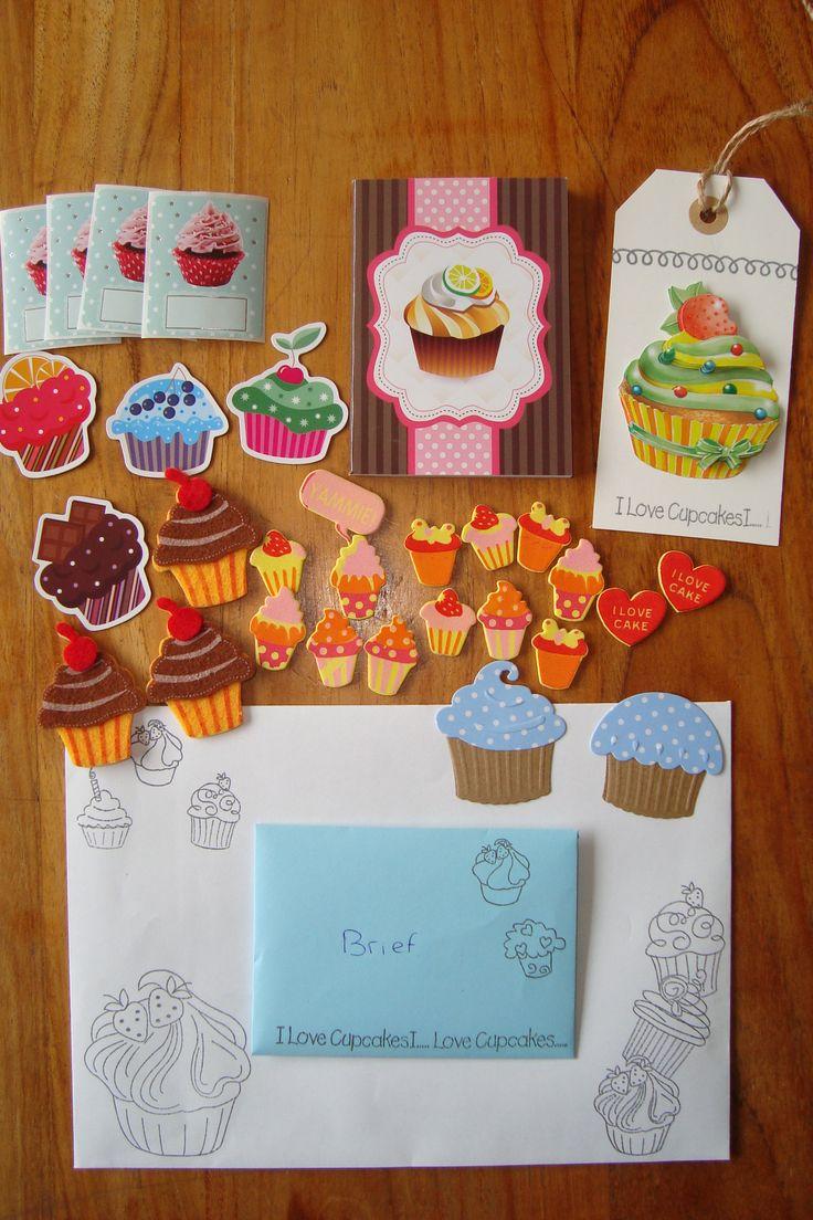 Cupcake snailmail