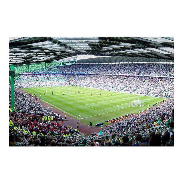 Kinderzimmer Vliestapete Breit »Fußballstadion«