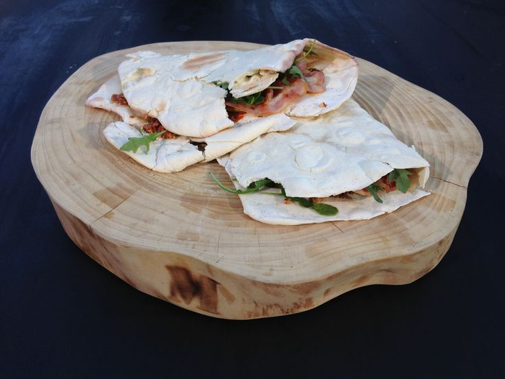 Naanbrødssandwich