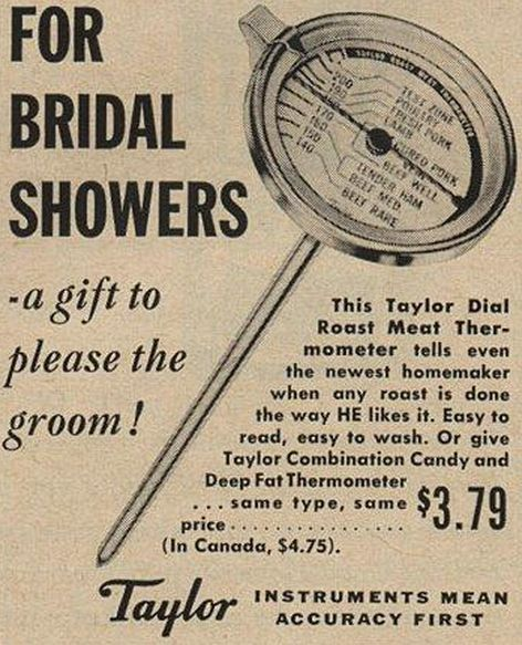 Why get her a gift she would enjoy? | 17 Ridiculously Sexist Vintage Ads