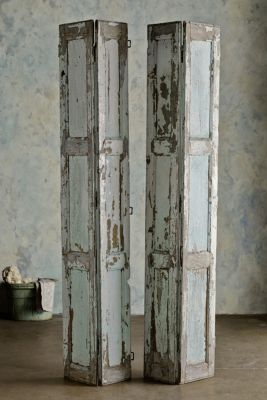 Volets De Limoge - Vintage Shutters, Antique Shutters, Mediterranean Shutters | Soft Surroundings