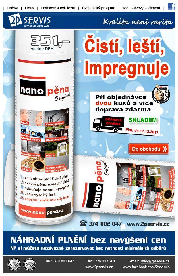 ★ ★ Pro super úklid zvolte změnu, vyzkoušejte Nano Pěnu ★ ★