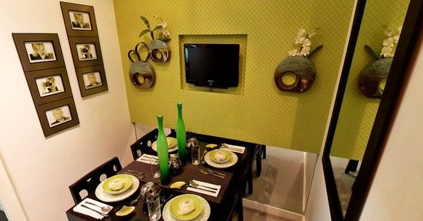 Berkeley Residences - Dining Area #condoForSale #realEstate #manilacondo www.mymanilacondo.com/