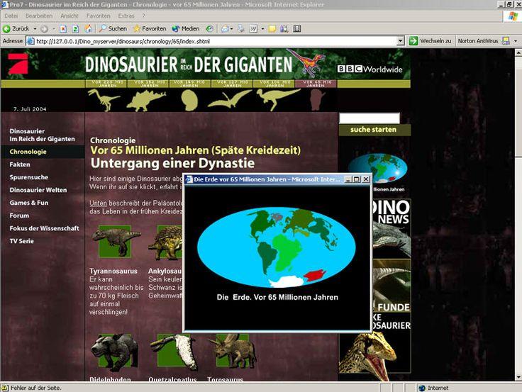 Pro7 Sat1 Media AG / BBC - Dinosaurier im Reich der Giganten