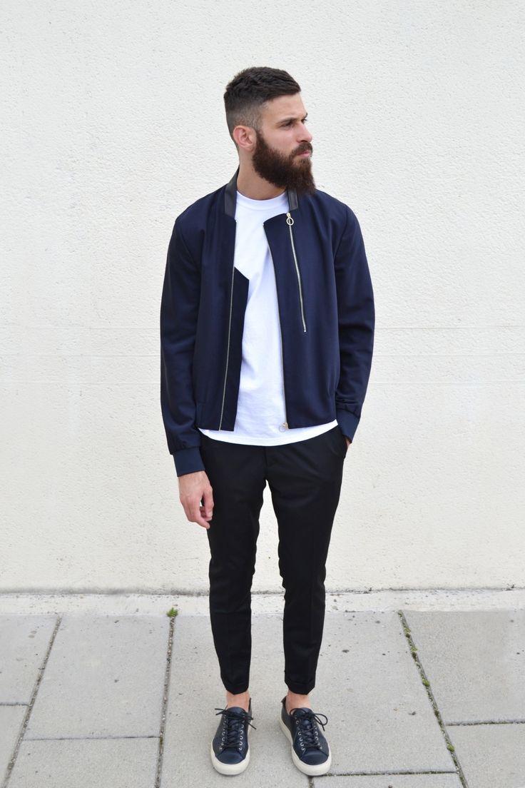 Bomber Jacket on Fleek, Urban Street Style, Men's Spring Summer Fashion.