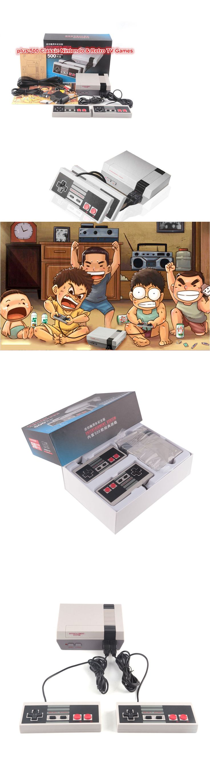 Other Wholesale Toy Lots 26424: New Classic Edition Nes Mini Console Entertainment System +500 Retro Game Ntsc -> BUY IT NOW ONLY: $59.9 on eBay!