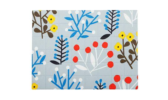 Ailakki coated cotton placemat by Marimekko