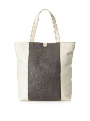 Charlotte Ronson Women's Mixed Exotic Tote