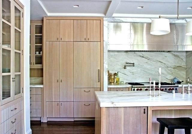 White Wash Wood Cabinets Whitewashed Washed Kitchen
