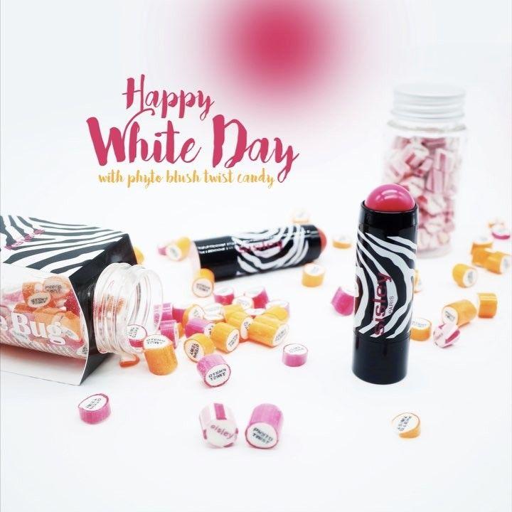 nice  HAPPY WHITE DAY with phyto blush twist candy 달콤한 캔디~ 발그레한 두 뺨!!  핑크빛 하루 되세요~  . ...
