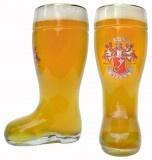 Beck's Glass Beer Boot 1 Liter