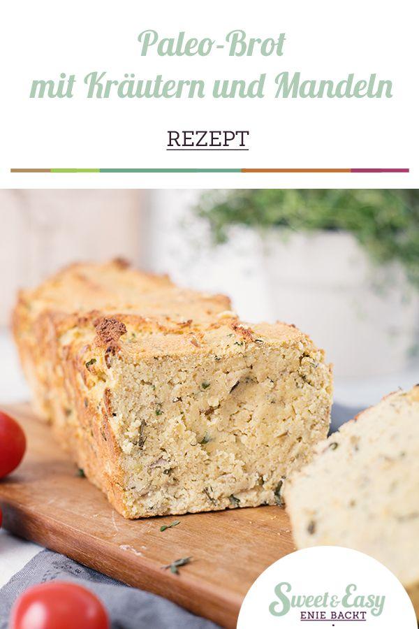 Steinzeit-Stulle mit Kräutern (Paleo-Brot)