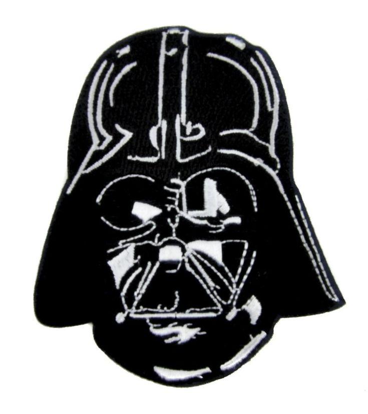 Darth Vader Helmet Patch Iron on Applique Alternative Clothing Dark Side  #hat #deathrock #gamer #horrormovie #baseballcap