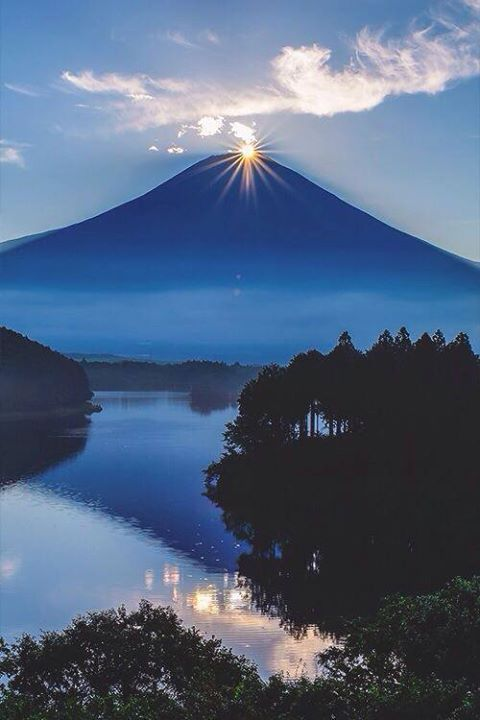 Mt. Fuji, Japan. One day, I'll be the one taking the picture!