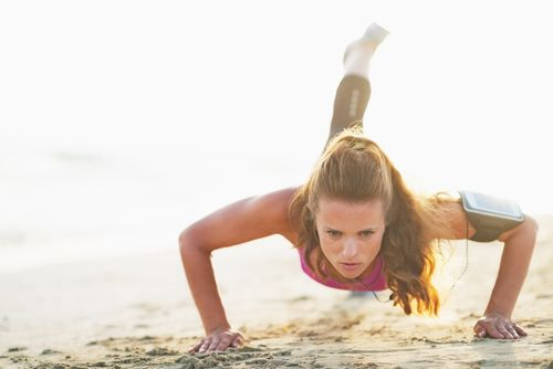 Push-Up Benefits: Getting the Most Out of Push-Ups - Cathe Friedrich. Push-ups - there's more than one way to do them. However you choose to do them, make sure you're using proper form. This article discusses push-up variations and how to get the most out of this bodyweight exercise.