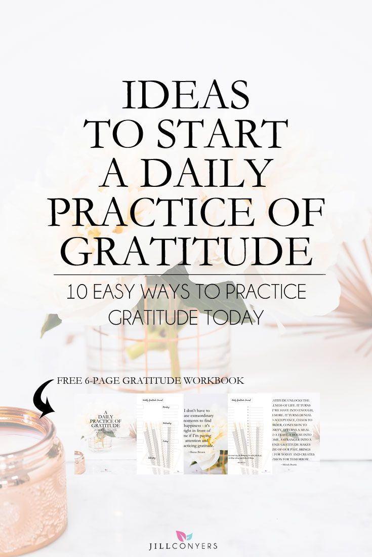 Scientific studies have shown the power of positive thinking can affect our overall health. Feel and express gratitude as a regular practice and you will see your life is extraordinary. Click through to download the FREE 6-page gratitude workbook. Pin it now to read later. @jillconyers #gratitude #healthyliving #wellness #selfcare #mindfulness #journaling