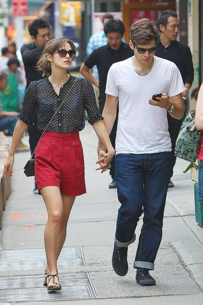 Keira Knightley way casual and classy too