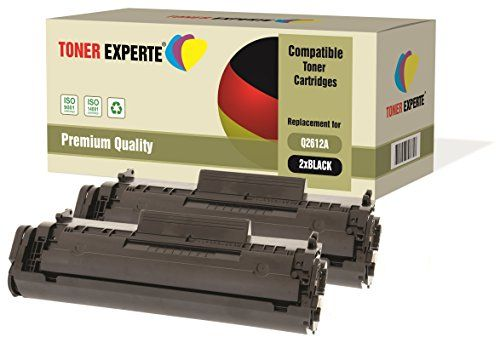 From 12.79 2-pack Toner Experte Compatible With Q2612a 12a Premium Toner Cartridges For Hp Laserjet 1010 1012 1015 1018 1020 1020 1022 1022n 1022nw 3010 3015 3020 3030 3050 3052 3055 M1005 Mfp M1319f Mfp