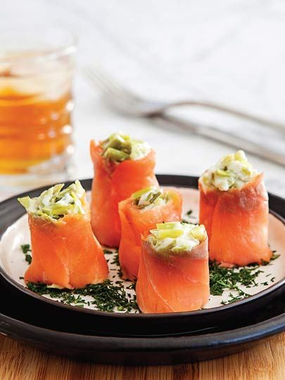 Pırasalı somon rulo Tarifi - Dünya Mutfağı Yemekleri - Yemek Tarifleri