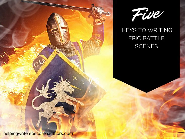 A book about war promises excitement, but you need to be writing epic battle scenes carefully to see them to their full potential. Look at five guidelines.
