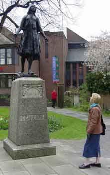 Pocahontas Grave, St. George Churchyard, Graves End, London